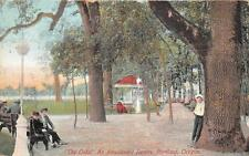 THE OAKS AN AMUSEMENT RESORT PORTLAND OREGON POSTCARD 1911