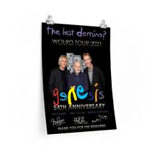 The last domino world tour 2021 Genesis 54th anniversary thank you posters