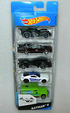Hot Wheels Batman 75th Anniversary 5 Car Collection Pack - NISB