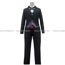 Black Butler Claude Faustus Tail Coat Uniform COS Cloth Cosplay Costume