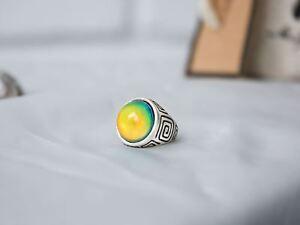 Elite Line Art Design Mood Ring