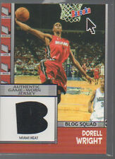 DORELL WRIGHT 2005-06 TOPPS BLOG SQUAD RELICS #BBS-DWR