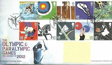 GB - FIRST DAY COVER - FDC - COMMEMS -2009-  OLYMPICS/PARALYMPICS - Pmk TH