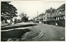 REAL PHOTO POSTCARD ST. MARY'S AVENUE, CROOK, (NEAR BISHOP AUCKLAND), CO DURHAM