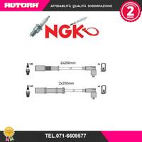 4746-G Kit cavi candele Fiat Punto-Grande Punto 1.2-1.4 (NGK)