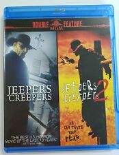 JEEPERS CREEPERS & JEEPERS CREEPERS 2 BLURAY DOUBLE FEATURE 2 DISC