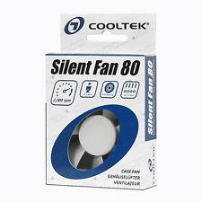 COOLTEK 80x80x25mm silent fan silenzioso Ventola chassis particolarmente Tapis calma