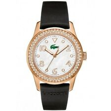 Lacoste Ladies Watch Wristwatch Advantage Stainless Steel Silicone 2000649