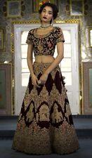 Lehenga Choli Lengha Chunri Designer Sari Saree Party Wear Indian Wedding Ethnic