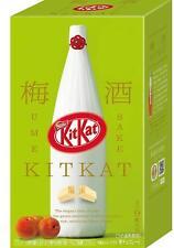 Limited Japanese Kit Kat UME SAKE BOX Mini 9 Pieces Chocolates KitKat JAPAN