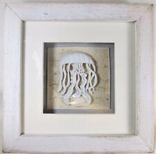 Jelly Fish Shadow Box Nautical Sea Life Wall Art Home Decor
