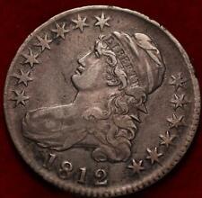 1812 Philadelphia Mint Silver Capped Bust Half Dollar