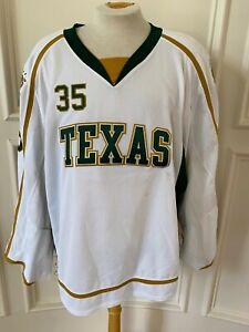 Reebok Edge Texas Stars Pro Stock Game Jersey Goalie LeMay 7336