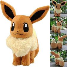 Eevee Plüschtier Geschenk Pokemon GO Evoli Stofftier Kuscheltier Xmas Spielzeug