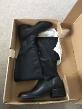 Ladies Next Size 6 Brand New Thigh High Black Boots