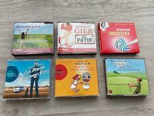 Hörbücher Sammlung bestehend aus 6 humorvollen Romanen