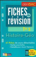 TERMINALE S HISTOIRE GEOGRAPHIE FICHES DE REVISION Bac Bordas