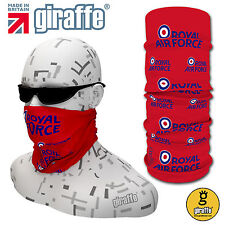 RAF Red-391 Multifunctional Headwear Neckwarmer Snood Bandana Headband Tube