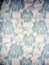 Blue Sky Fiore Rosa in pizzo stretch tessuto q963 SKBL