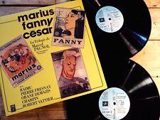 MARCEL PAGNOL MARIUS FANNY CESAR 2 LP 33T VINYLE EX COVER EX ORIGINAL 1979