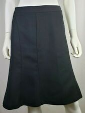 Ann Taylor Womens Black Pencil Flare Skirt Size 2 XS S NWOT