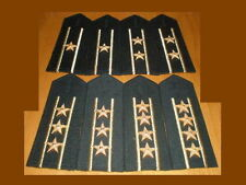 07's series China PLA Army Officer Full Dress Hard Shoulder Boards,7 Pair,Set