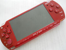 PlayStation Portable (PSP) 3000 Red Handheld System Game Console Play Station