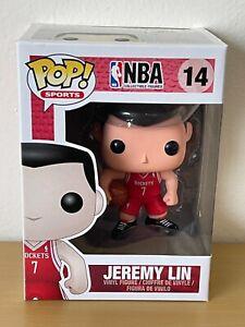 Funko Pop Sports NBA #14 Jeremy Lin Houston Rockets VERY RARE VAULTED RETIRED