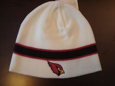 ARIZONA CARDINALS  EMBROIDERED TOBOGGAN KNIT RETRO BEANIE SKULL HAT CAP