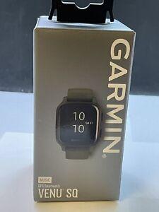 Garmin Venu Sq Music Fitness GPS Smartwatch - Moss/Slate Retail $249.00