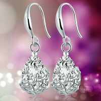 Gorgeous 925 Silver,Gold Drop Dangle Earrings Women Engagement Wedding Jewelry