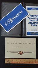 1999 CHRYSLER Intrepid - Original Owner's Manual Guide