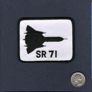 SR-71 BLACKBIRD USAF Lockheed TRS Reconnaissance Squadron Hat Jacket Patch