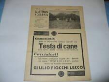 RIVISTA LA SETTIMANA DI CACCIA E PESCA N. 18 1937