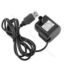 DC 3.5V - 9V 3W USB Submersible Fountain Pond Pump Water Pump Fish Tank Aquarium