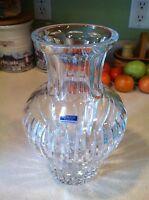 Waterford Sheridan Large Crystal Vase