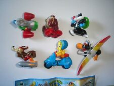 LOONEY TUNES WINTER SPORTS RACE 2010 - KINDER SURPRISE FIGURES SET COLLECTIBLES