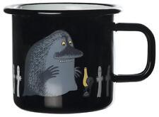 Moomin Enamel Mug RETRO Groke 3,7 dl *NEW