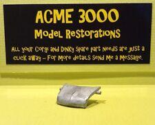 Dinky 250 Mini Cooper S Police Car Reproduction Repro White Metal Bonnet Hood