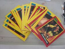 WCW 1991 TRADING CARDS LOT OF 44