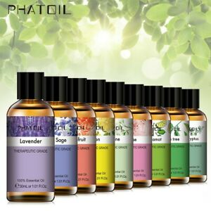 PHATOIL Pure Essential Oils (Lavender Jasmine Fragrance Oils) Aromatherapy 30ml