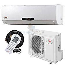 3 TON 36,000 BTU DC Inverter A/C Heat Pump Ductless Mini Split Wall Mount,25'kit