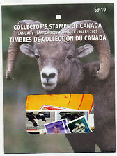 Weeda Canada 2003 Jan-Mar Quarterly Pack, sealed! Face value $9.10