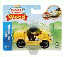 Thomas & Friends ACE the RACER Wood Race Car - Train Engine  🌟NEW🌟