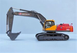 "NZG 811.02 VOLVO EC460CL Excavator ""VAN DALEN COLLECTOR EDITION"" 1:50 ""NEW"""