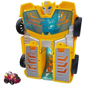 Playskool Heroes Transformers Rescue Bots Academy Bumblebee Track Tower Playset