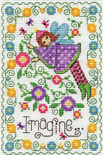 Cross Stitch Kit ~ Design Works Imagine Fairy #DW3224