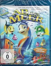 Blue-ray + Ab ins Meer + Auf der Suche nach der verlorenen Perle + Familienfilm