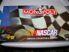 New Nascar Monopoly Game Official Collector's Edition Pewter Tokens Sealed Box!!