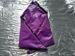 Purple & black nylon bandana